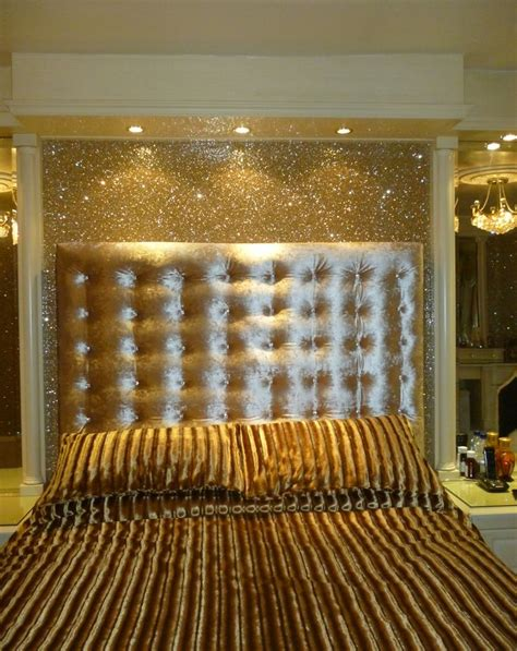 gold glitter wallpaper for walls gold glitter wallpaper with our padded double headboard