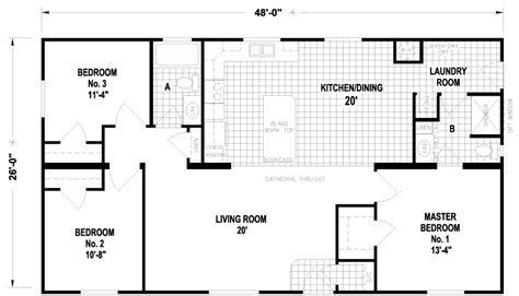wide floor plans 28 images wide floor plans houses carlton 28 x 48 1248 sqft mobile home factory expo home