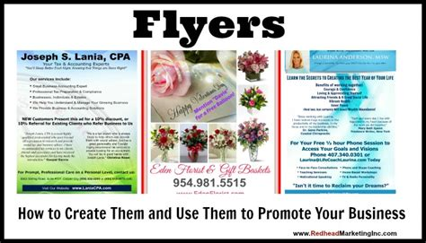 How To Make An Advertisement On Paper - flyers how to create them and use them to promote your