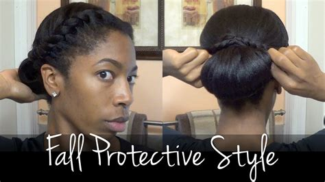 everyday hairstyles for transitioning hair protective style for fall protective styling relaxed