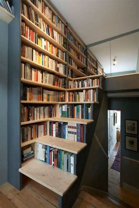 interesting bookshelves cool home library ideas hative