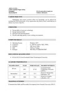 Sample Resume Objectives For It Freshers by Retail Resume For Freshers Sales Retail Lewesmr