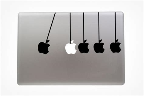 Sticker Laptop Handphone Macbook Iphone Light Bulb newton s cradle macbook decal sticker