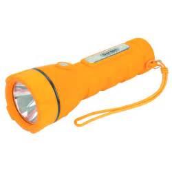 rubber grip flashlight