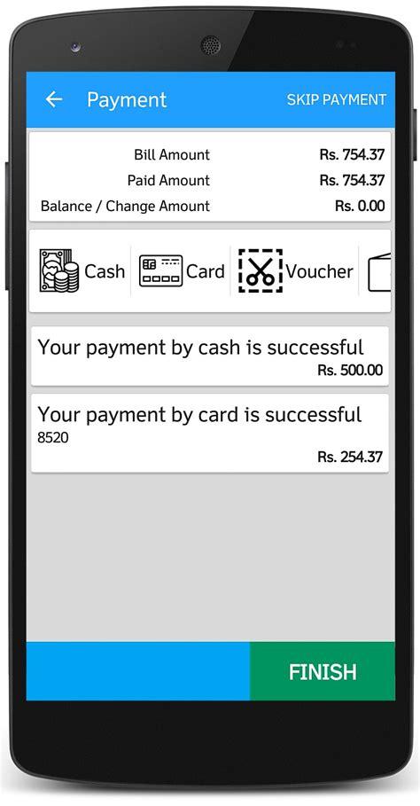 mobile billing mobile pos billing app software for retail and restaurant