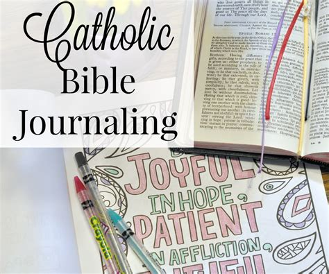 the catholic journaling bible books catholic bible journaling the littlest way