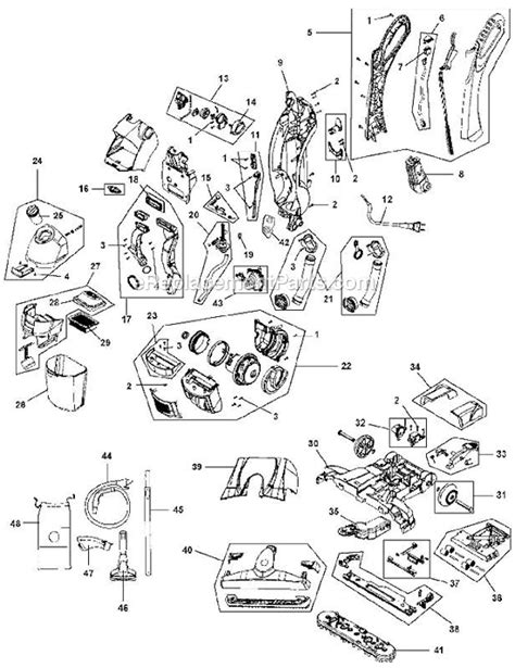 hoover floormate parts diagram hoover fh40010b parts list and diagram ereplacementparts