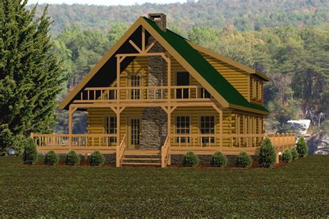 hilltop battle creek log homes