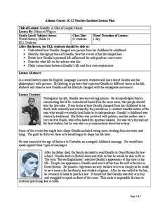 gandhi biography activity mahatma gandhi hero lesson plans worksheets reviewed by