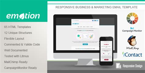 Download Emotion Responsive Email Template Needmytheme Com Outlook Responsive Email Template