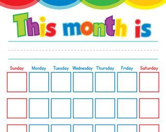 calendars with children childrens calendar etsy