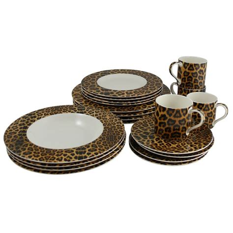 leopard print dishes 28 images the art of entertainment mikasa leopard dishes tablescape