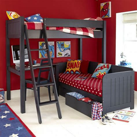 Warwick High Sleeper With Futon by Best 25 High Sleeper Ideas On High Sleeper