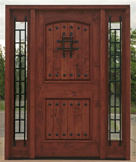 Wood And Iron Front Doors Entry Doors Wood And Iron Entry Doors
