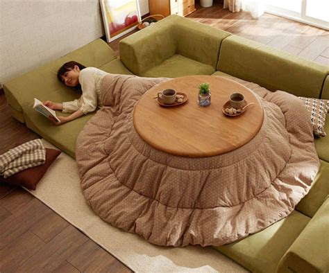 kotatsu bed japanese style kotatsu heated tables home design garden architecture magazine
