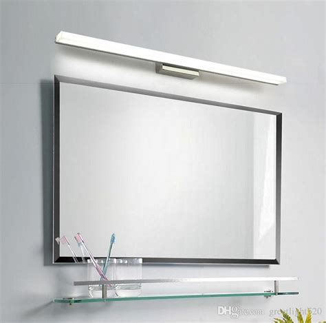 Bathroom Mirror Led Light 2018 Bathroom Mirror Light Led Wall Light Mirror Front Makeup Led Lighting Waterproof