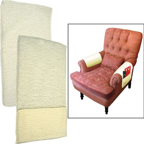 armchair pockets 2 piece fleece style armchair covers with pocket picclick