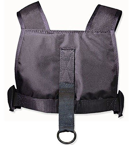 sleigh harness comcor sled harness vest with padded shoulders made in usa