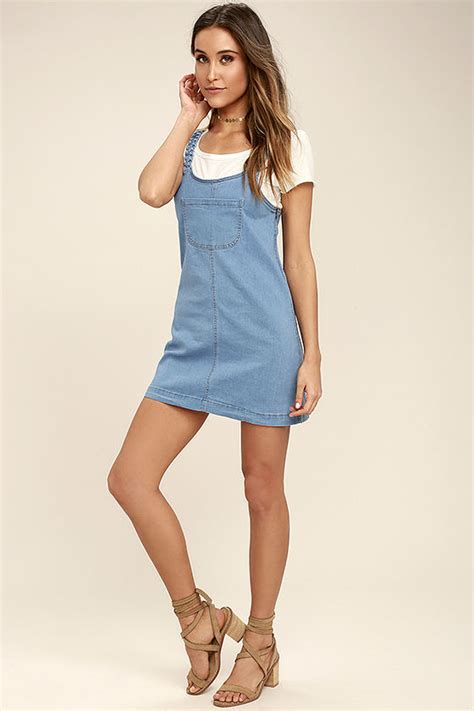 Transition Wear Cutest Pinafore Dress by Blue Dress Denim Pinafore Pinafore Dress
