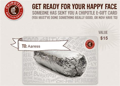 How Do You Use E Gift Cards - never do boring what you can learn about pr from a chipotle e gift card