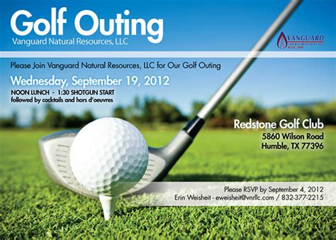 Golf Outing Invitation On Behance Free Golf Invitation Template