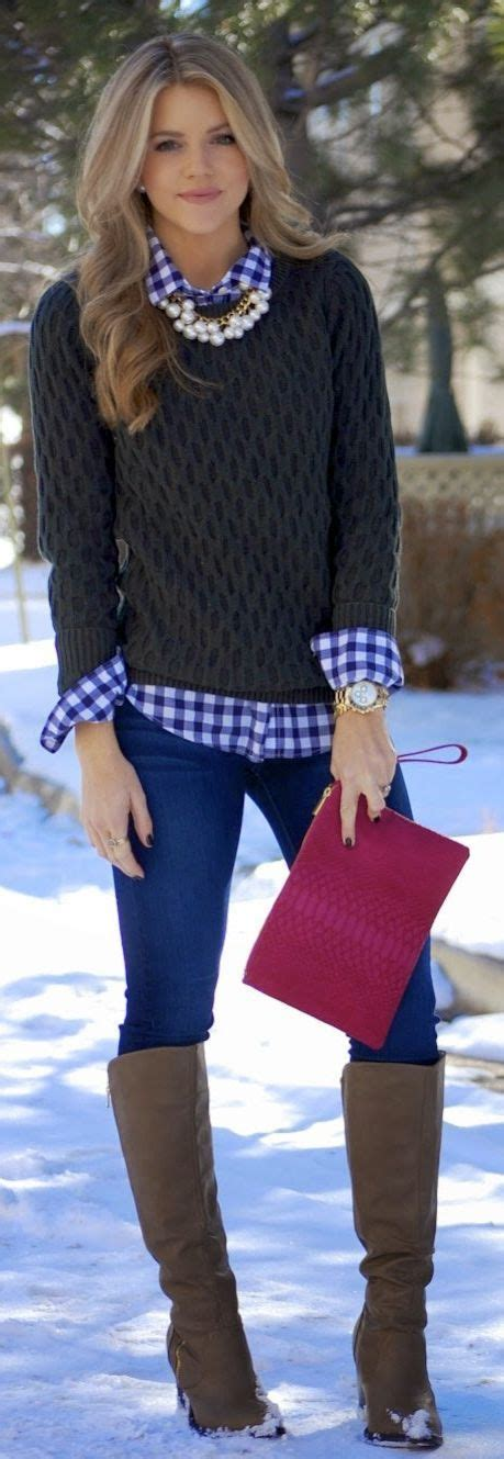 Fashion Find Get Preppy This Winter classic winter layers winter clothes