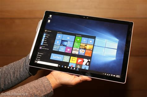 Tablet Microsoft Surface Pro 4 microsoft surface pro 4 tablet gets a powerful upgrade pictures cnet