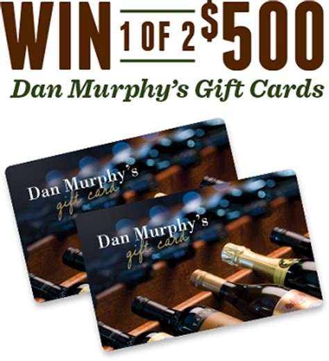 Everyday Rewards Gift Cards - dan murphy win a dan murphy 500 gift card woolwor australian competitions