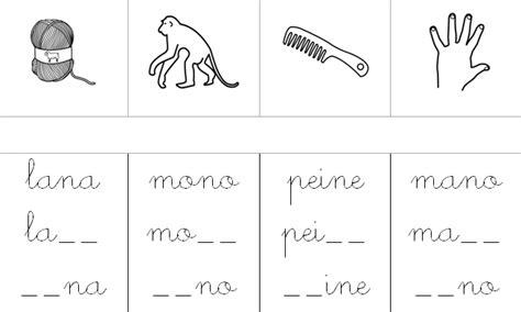 13 imprimir fichas educativas con ejercicios las letras nuevas fichas imprimibles de lectoescritura 9 l e t r a s