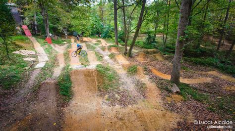 backyard dirt bike track mac mcgee at brad s backyard in high point north carolina