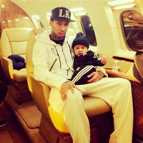 tyga amp his son