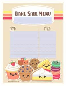 bake sale template bake sale printable labels set worldlabel