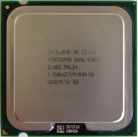 Processor Dual 28 Ghz intel pentium processor e2160 1 80gh end 4 18 2017 9 15 am