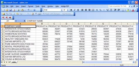 Creating Spreadsheets by How To Create Spreadsheet Data