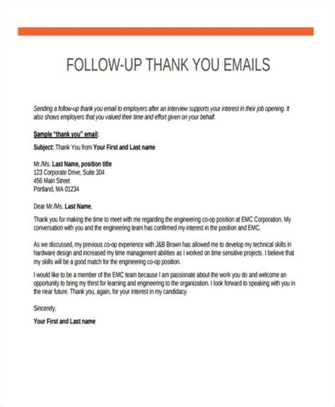 thank you letter after okay to email thank you letter after email sle 28 images thank you