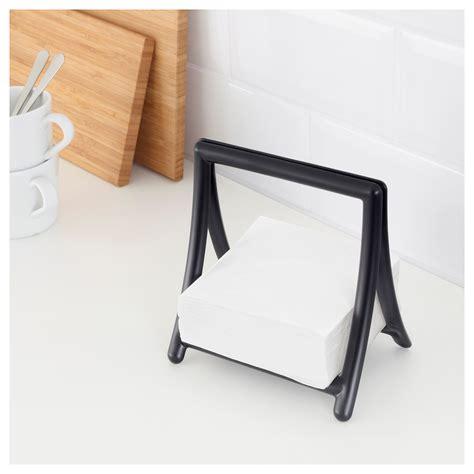 table paper holder greja napkin holder black ikea