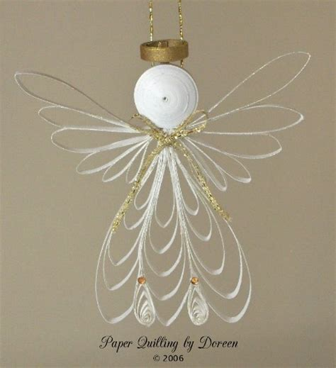 quilling angel tutorial 138 best quilling angels images on pinterest quilling