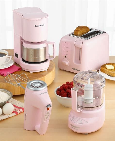 cuisinart pink appliances   mom pinterest