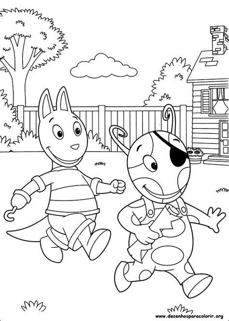 imagenes surrealistas para niños backyardigans para colorir