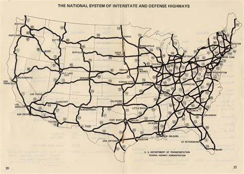 map of the united states with major highways interstate 82