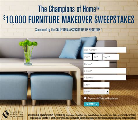Furniture Sweepstakes ocwen new reo application poncie