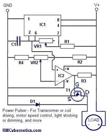 diy power pulse controller rmcybernetics