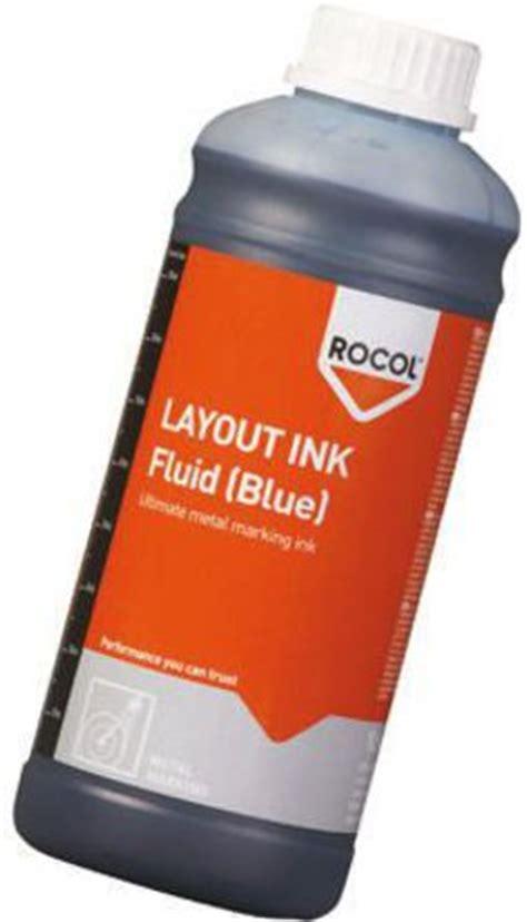 Layout Ink Definition | 57034 rocol 57034 marking layout ink fluid bottle 1l