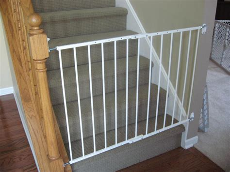 Safety Gates For Stairs With Banisters by Custom Made Stair Gates Pictures Door Stair Design