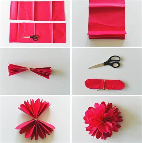 papier pompons selber machen deko ideen zum selbermachen f 252 r erwachsene und kinder
