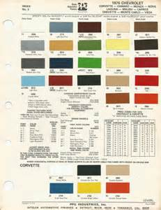 Chevrolet Paint Colors 1976 Chevrolet Camaro Medium Saddle Poly Code 67 Car