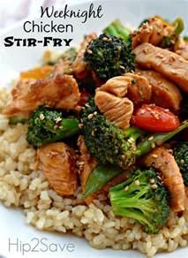 easy chicken stir fry recipe dishmaps