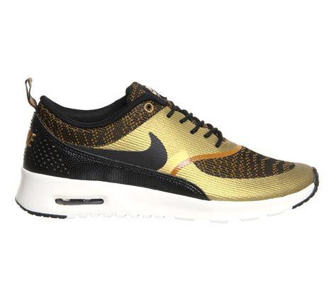 cheap nike air max thea s running shoes bronze black