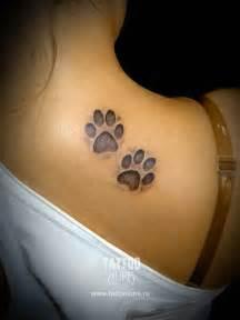 Art and tattoo footprints
