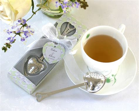 tea themed wedding favors traditional favors